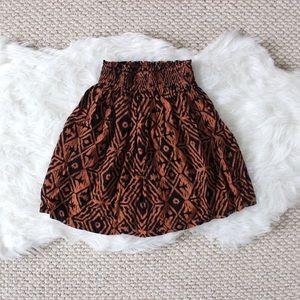 Dresses & Skirts - Tribal Print Skirt